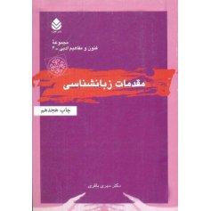 مقدمات زبان شناسی - مجموعه فنون و مفاهیم ادبی 4