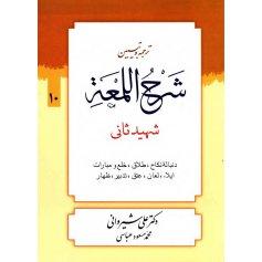 کتاب ترجمه و تبیین شرح اللمعه 10