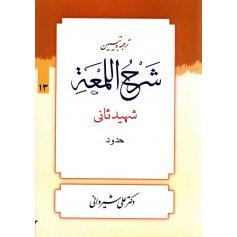 کتاب ترجمه و تبیین شرح اللمعه 13
