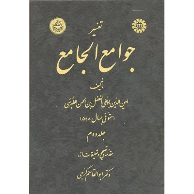 تفسير جوامع الجامع ( جلد دوم )